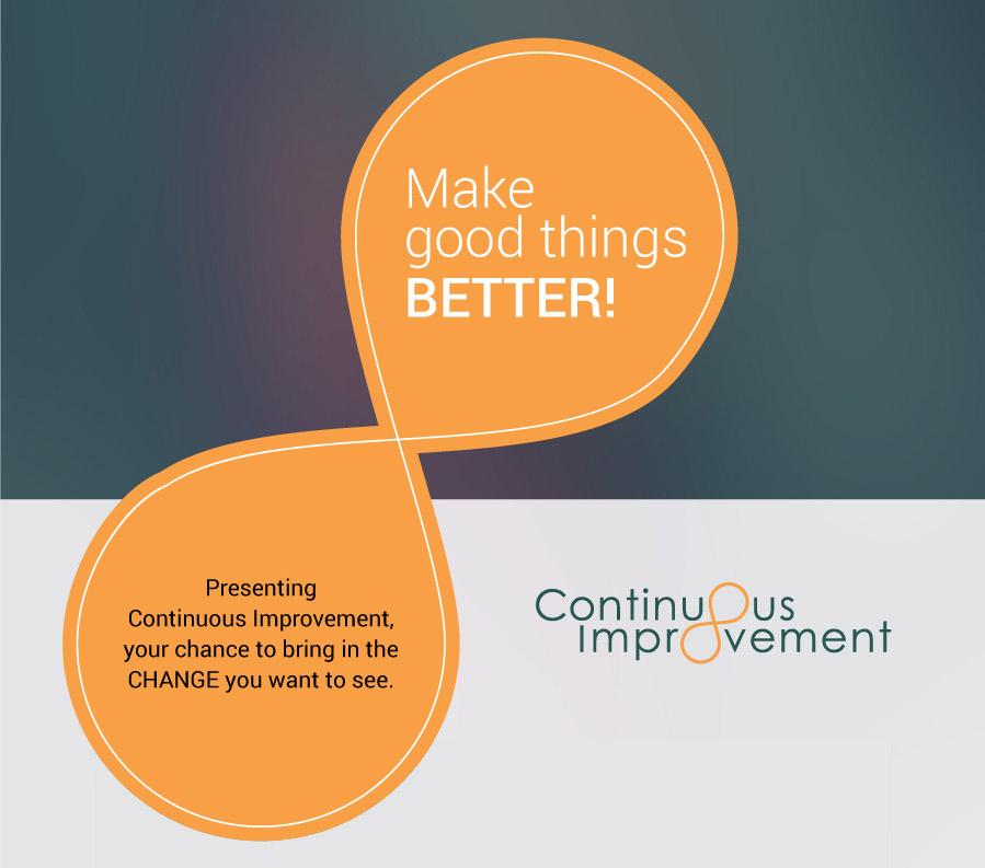 Why is emids pursuing Continuous Improvement?