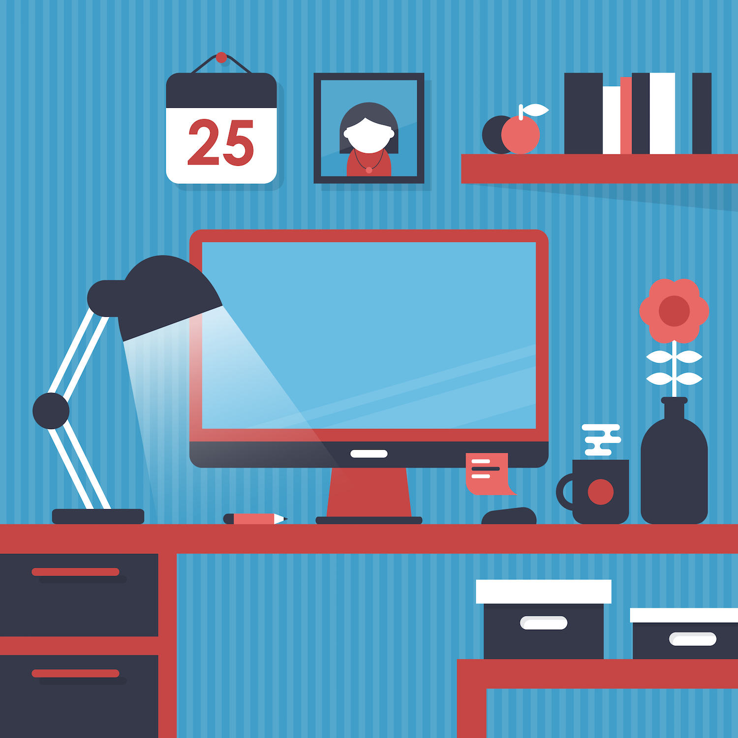 Re-imagine your work space to inspire productivity. Here's how.