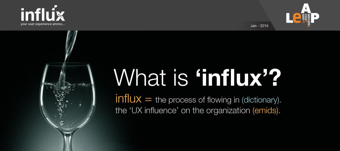 Influx – Jan 2016