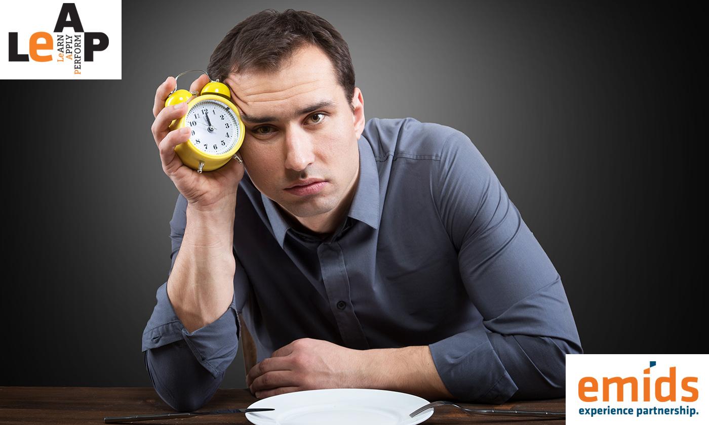 Kick start post-lunch productivity