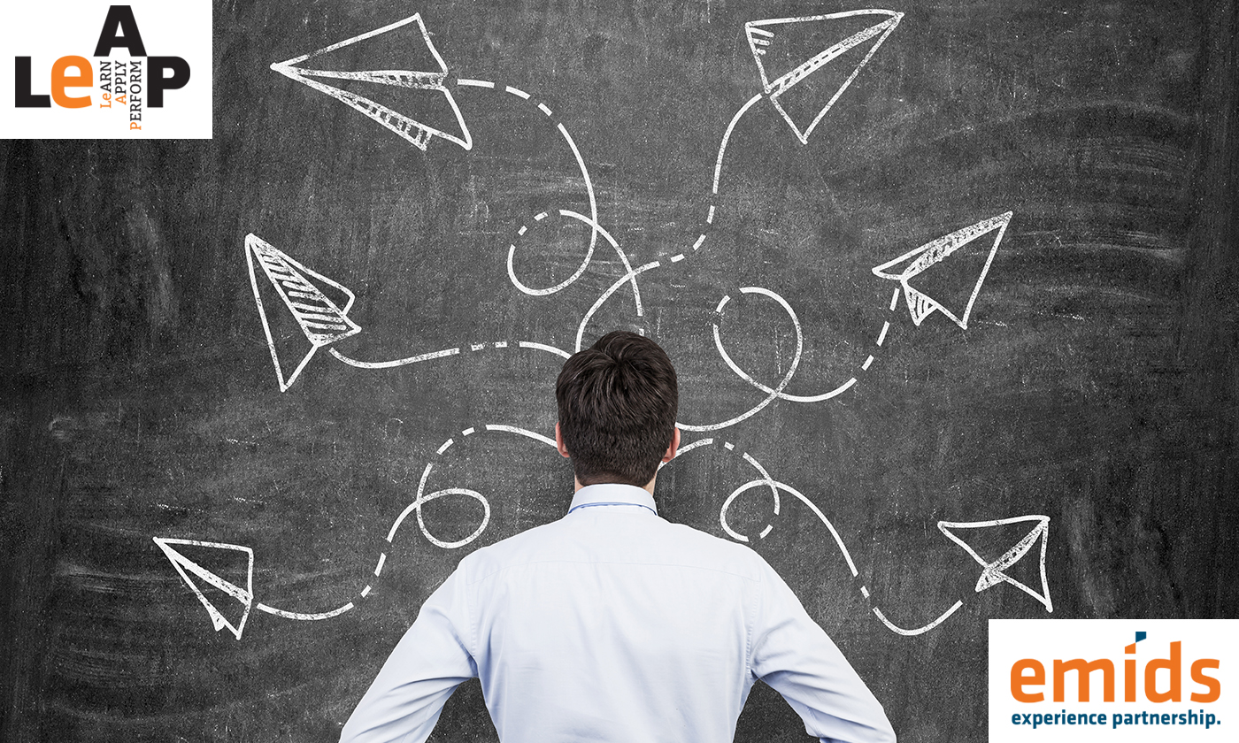 Is 'Plan B' hindering your chances of success?