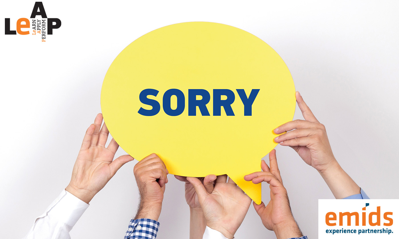 Is there a right way to apologize?