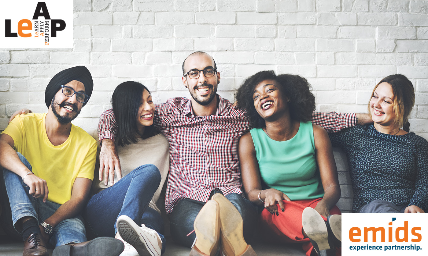 Presenting the two key tenets of diversity training