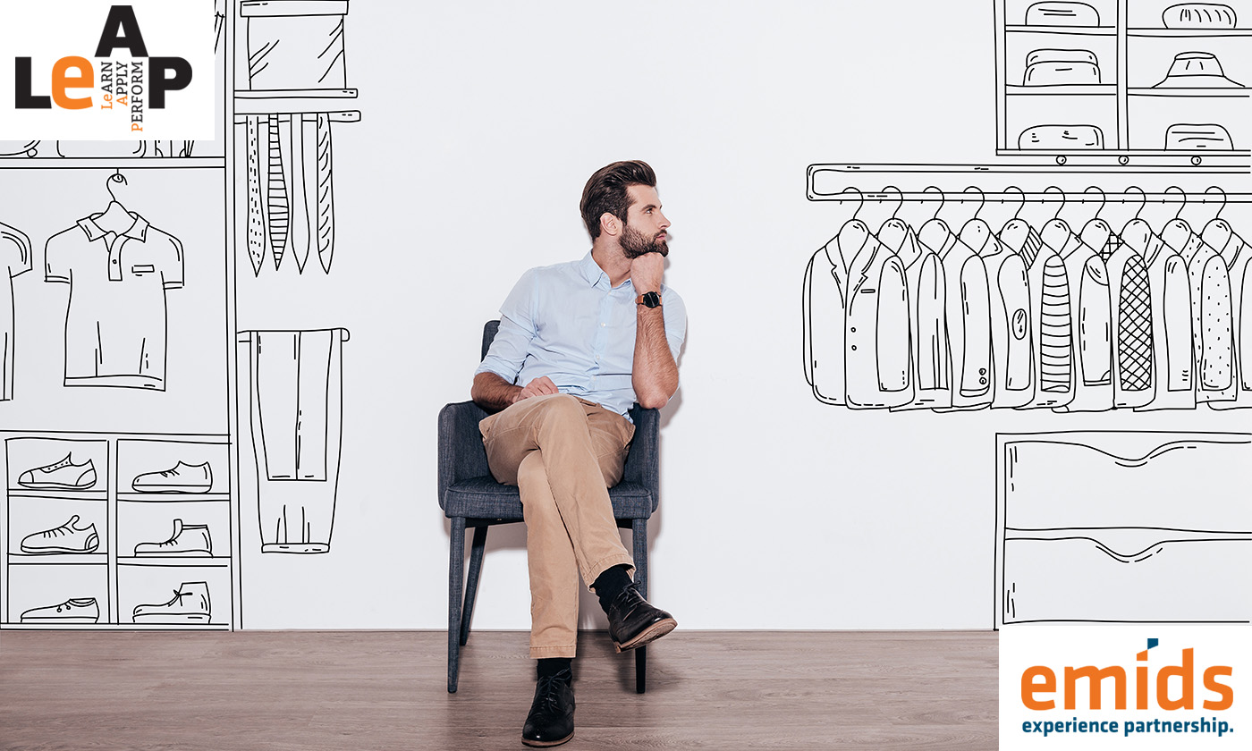 What to do when someone doesn't dress sharply to work?