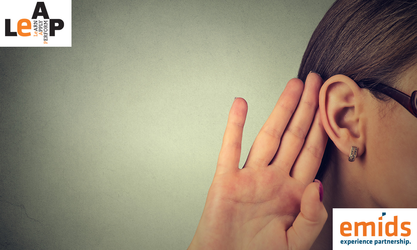Boost your skill sets with active listening