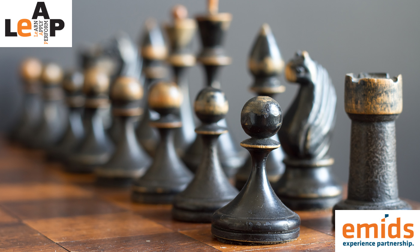 Build a strengths-based work culture; think like a chess player