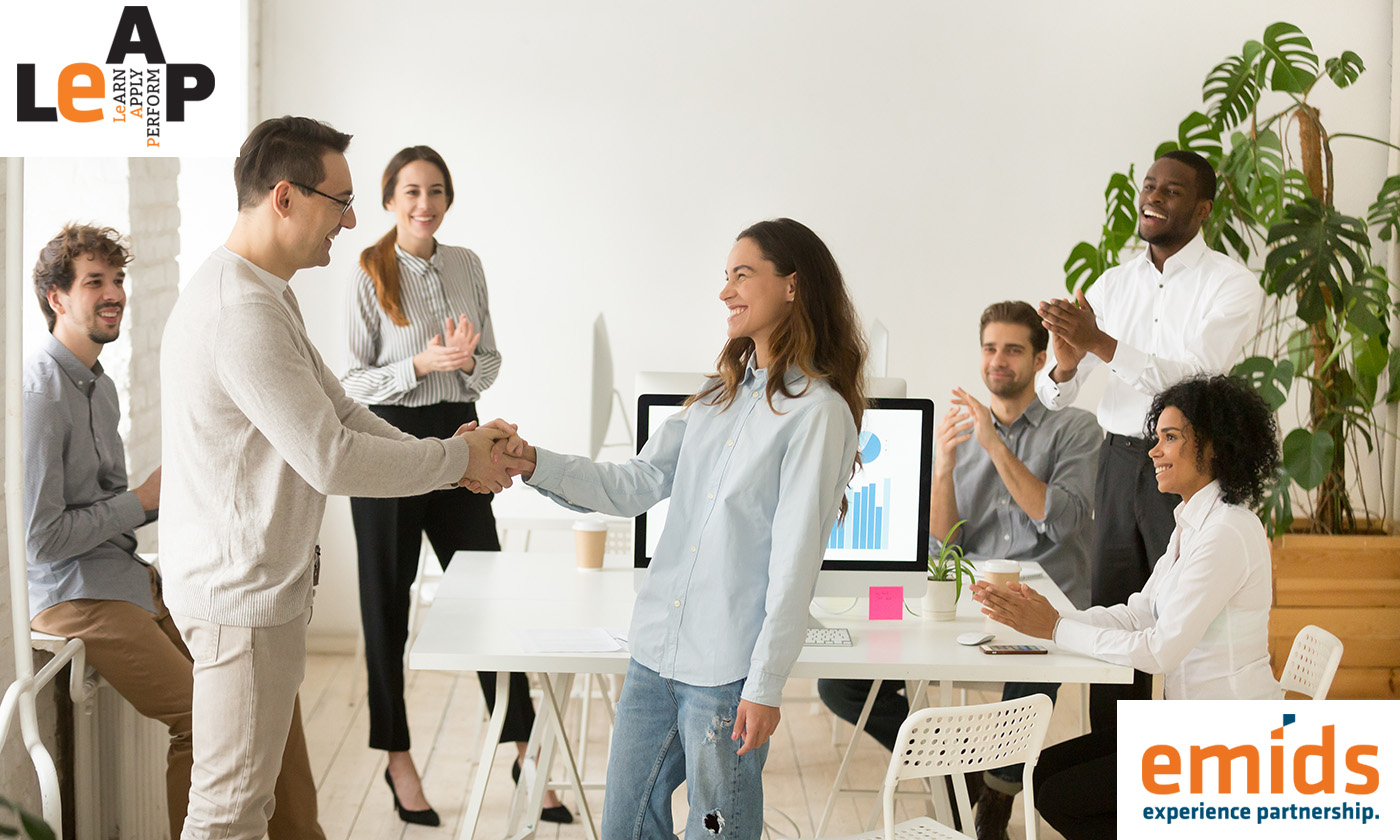 """""""You did it!"""" – accepting praise at work"""
