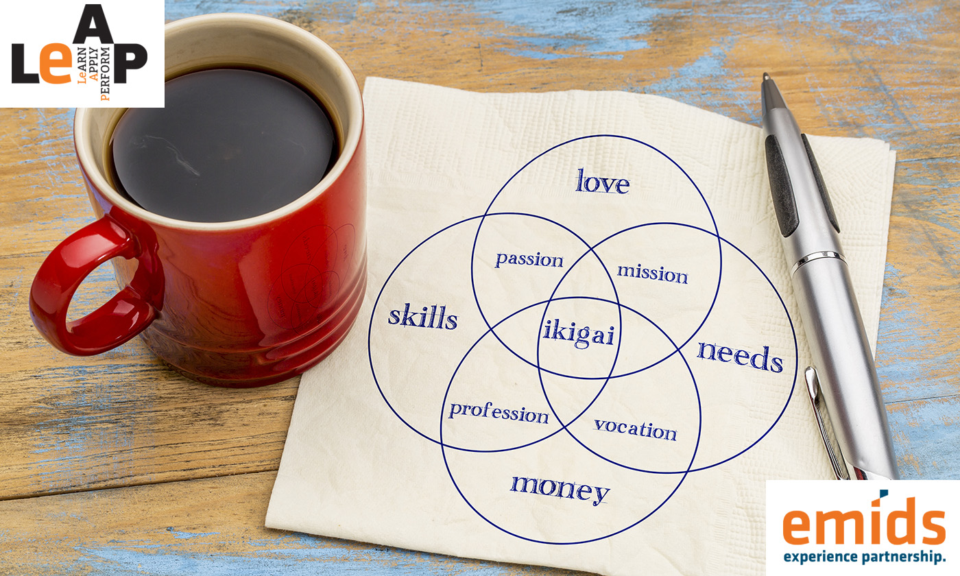 Four simple ways to find ikigai– or purpose– in the workplace