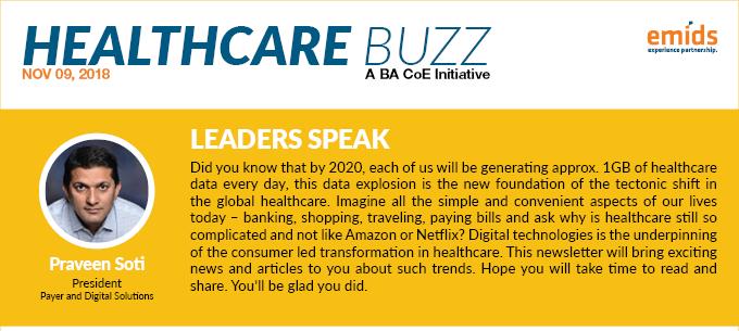 Healthcare Buzz: November 2018