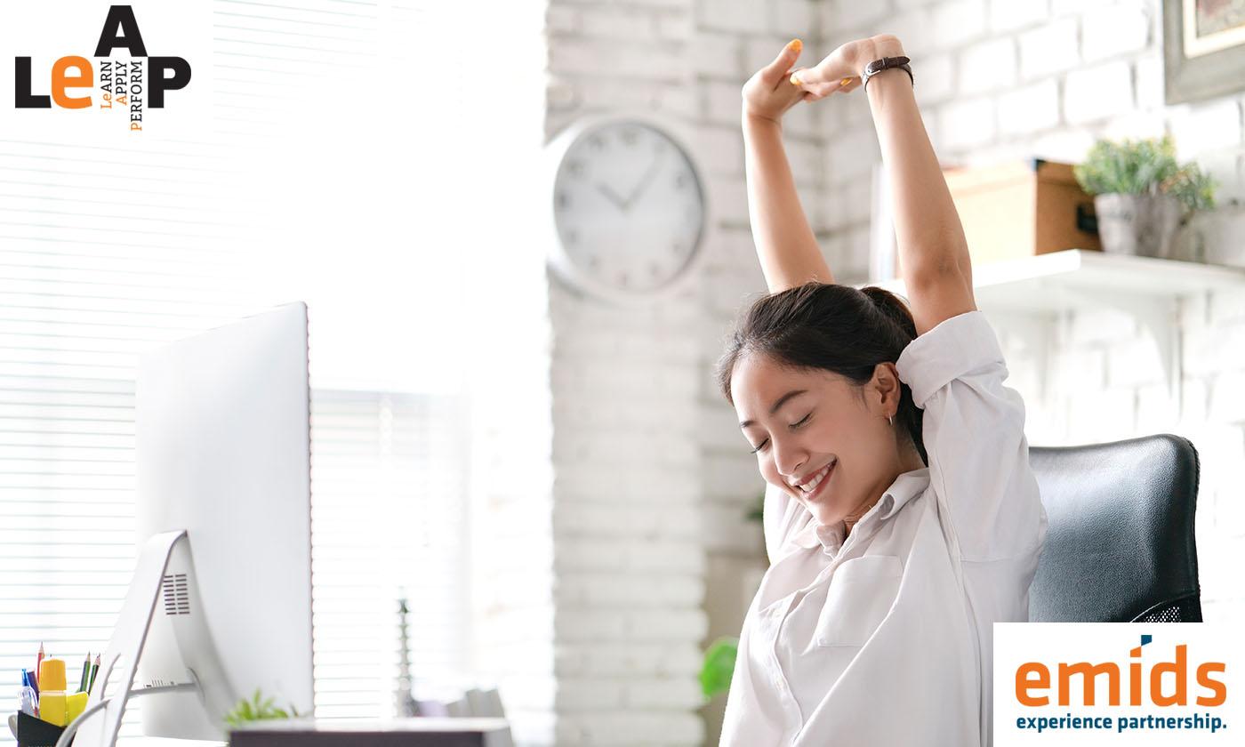 Avoid desktop strain with three simple ergonomic steps