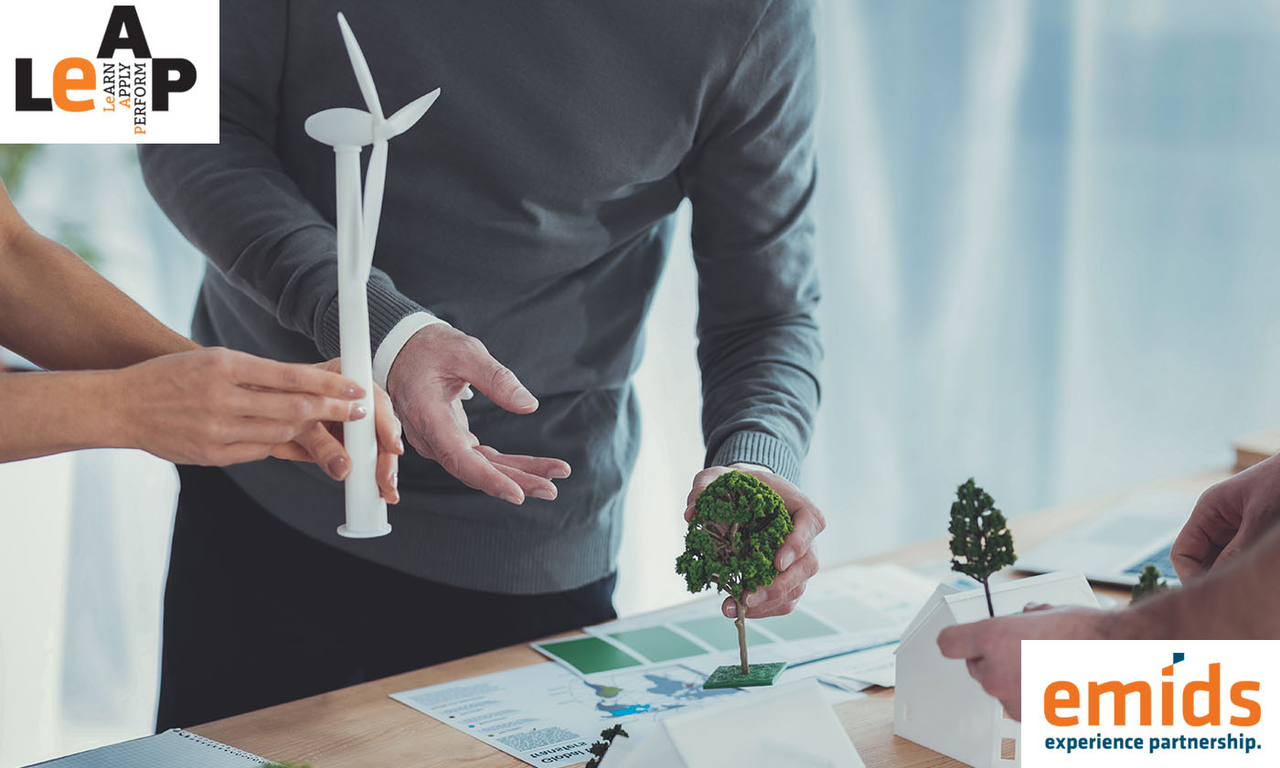 Creating a greener workplace – from the top!