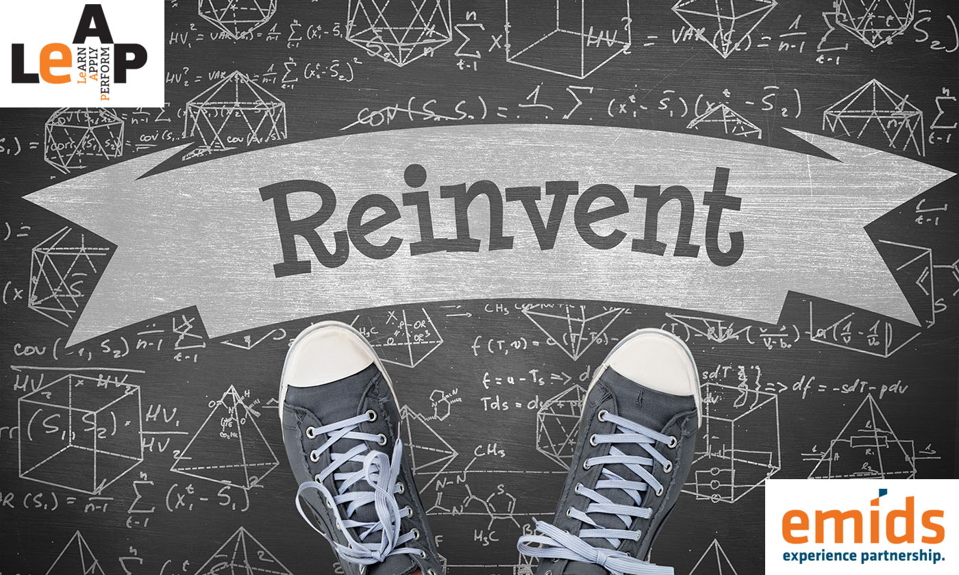 The COVID-19 reset: 3 reasons to reinvent yourself