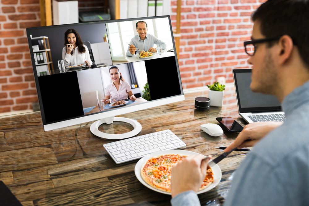 How to keep small talk alive in a remote workspace